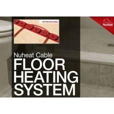 Nuheat Cable Kit - Model N1C012 - 12 square foot coverage